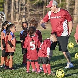 recreational league soccer sign-ups